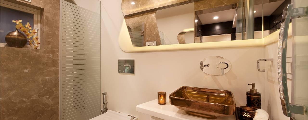 Bridal Room, Mumbai.:  Bathroom by SDA designs