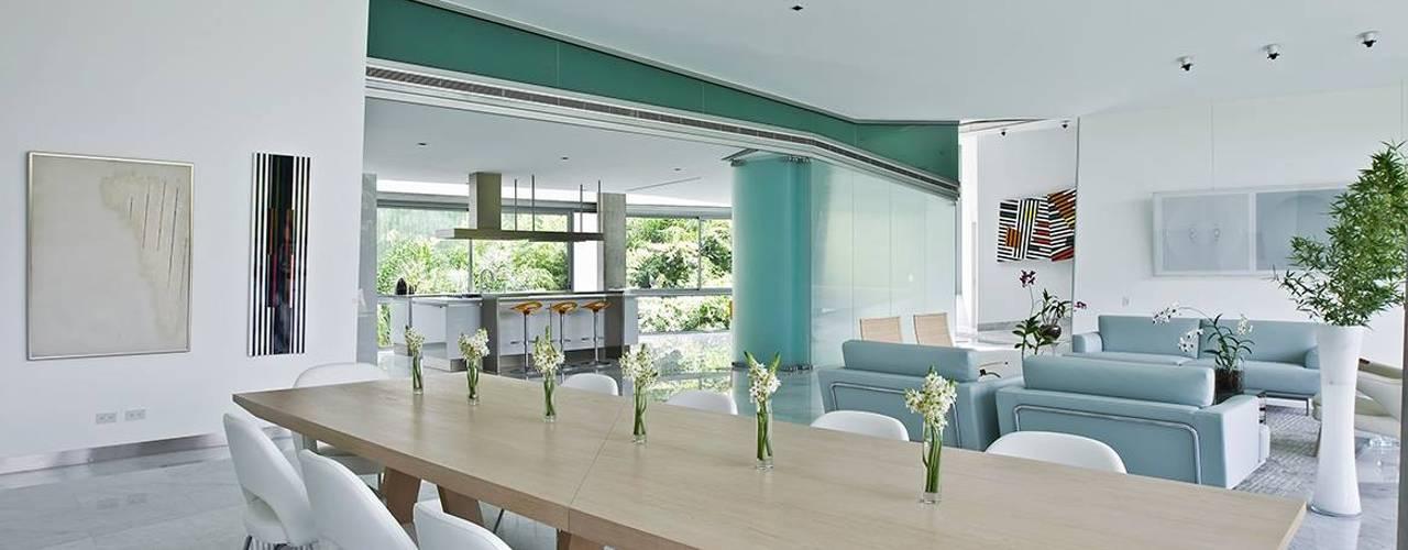 Casa AG oda - oficina de arquitectura Comedores de estilo moderno
