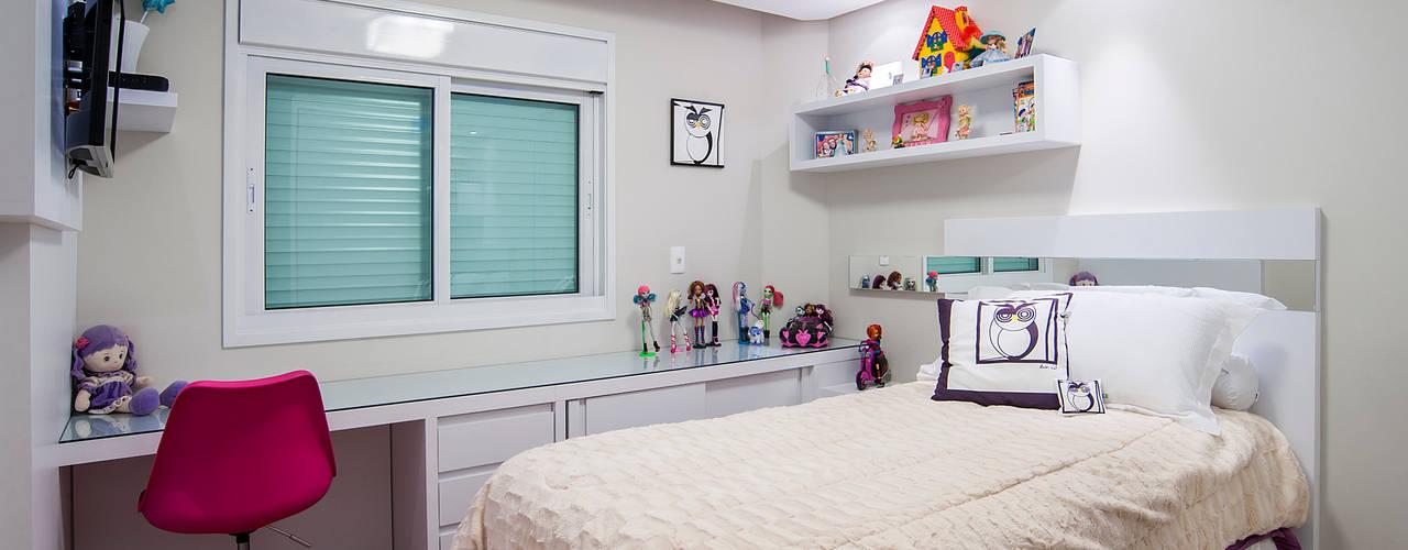 Casa 581: Quarto infantil  por Patrícia Azoni Arquitetura + Arte & Design