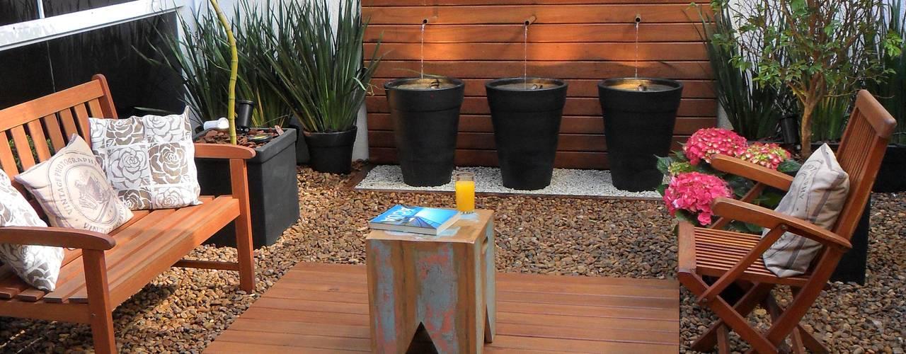 15 Ideen, um einen kleinen Garten mit Steinen zu verschönern