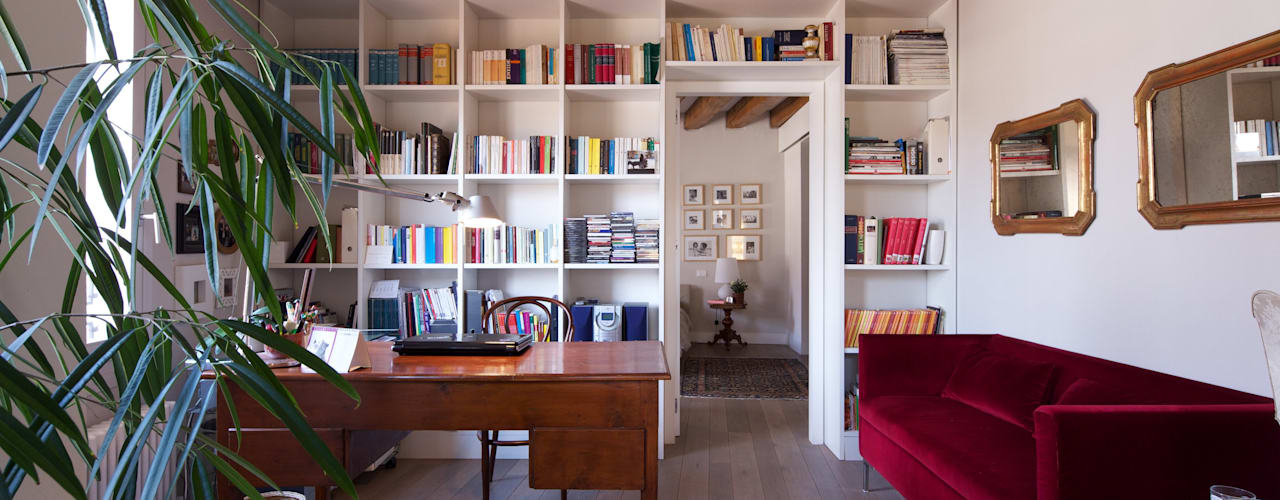 cristina mecatti interior designが手掛けた書斎