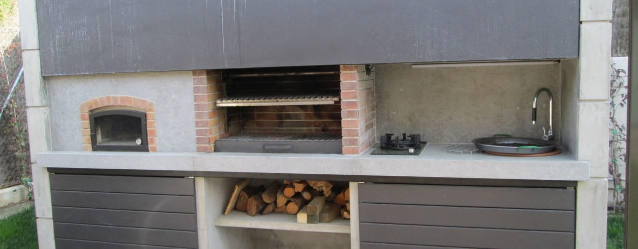 Marc Pérez Interiorismo Balconies, verandas & terraces Furniture