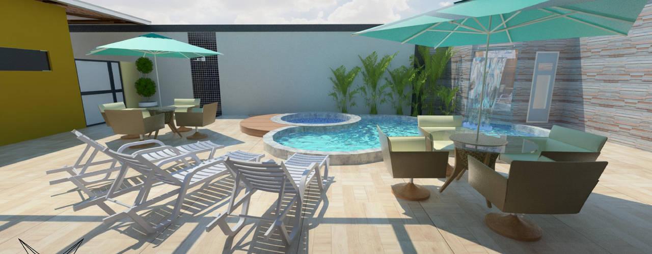 Piletas de estilo moderno por Nankyn Arquitetura & Consultoria
