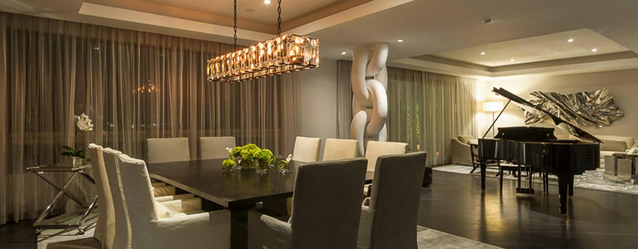 غرفة السفرة تنفيذ HO arquitectura de interiores, كلاسيكي