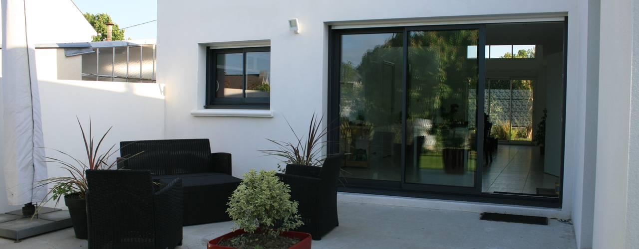 de estilo  por Atelier FA - Achitecture d'intérieurs & d'extérieurs,