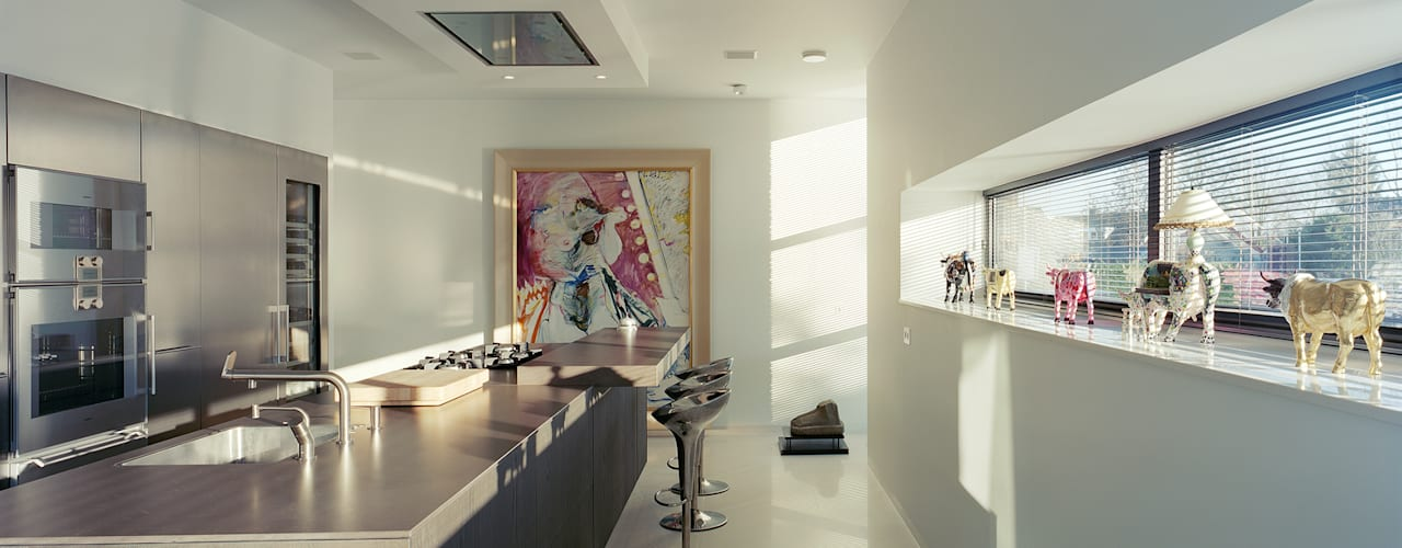 Modern kitchen by Engelman Architecten BV Modern
