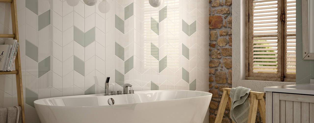 Baños de estilo rústico de Equipe Ceramicas Rústico