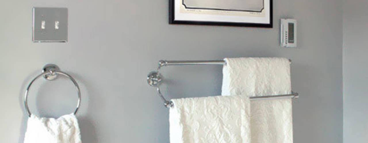 Salle de bain ANNA DUVAL Salle de bain classique Gris