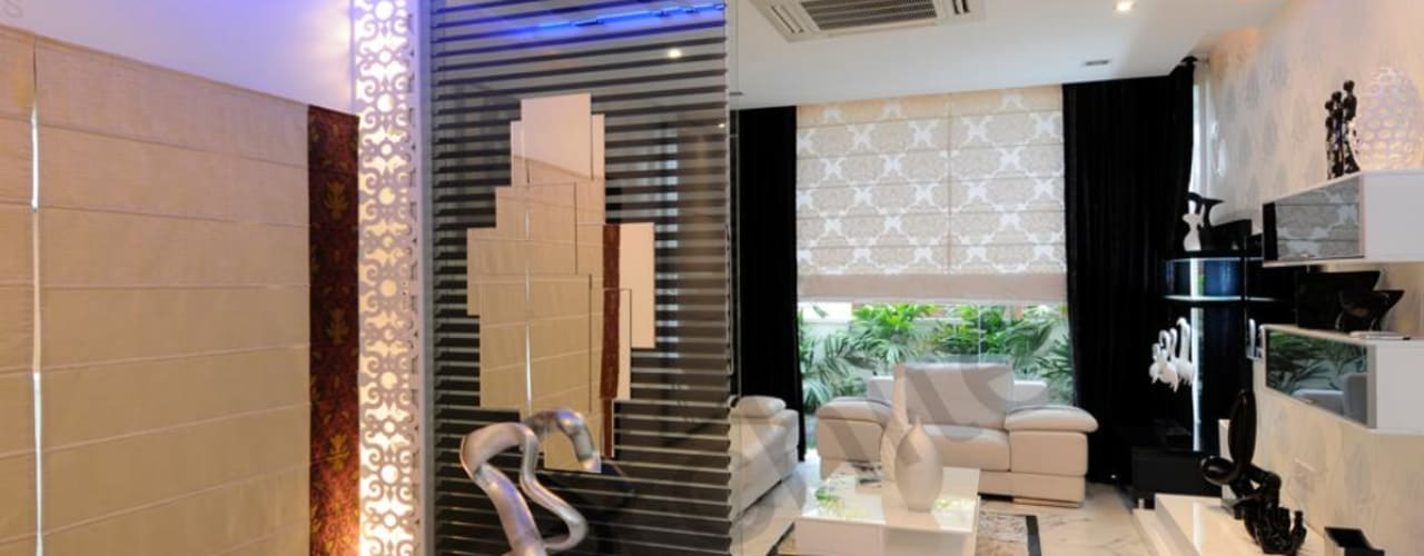 Salas de estilo  por NA ARCHITECTS