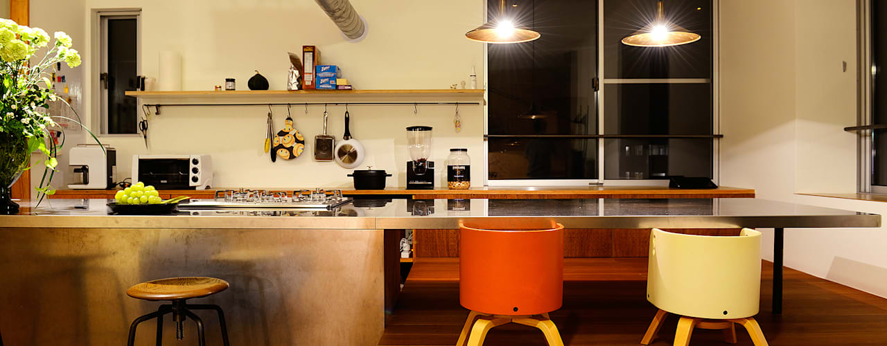 HOUSE  S: アーキライン一級建築士事務所が手掛けたキッチンです。