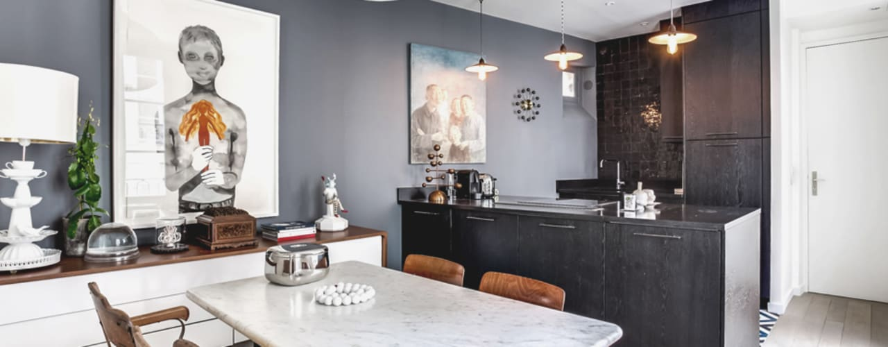 Modern dining room by cristina velani Modern