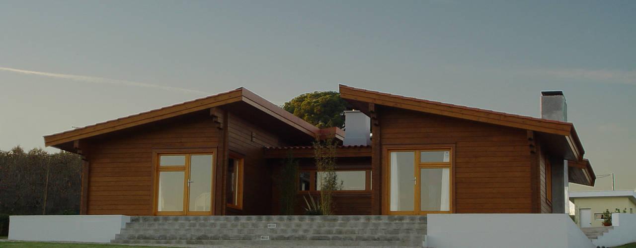 Moradia no Cadaval Casas modernas por MIGUEL VISEU COELHO ARQUITECTOS ASSOCIADOS LDA Moderno