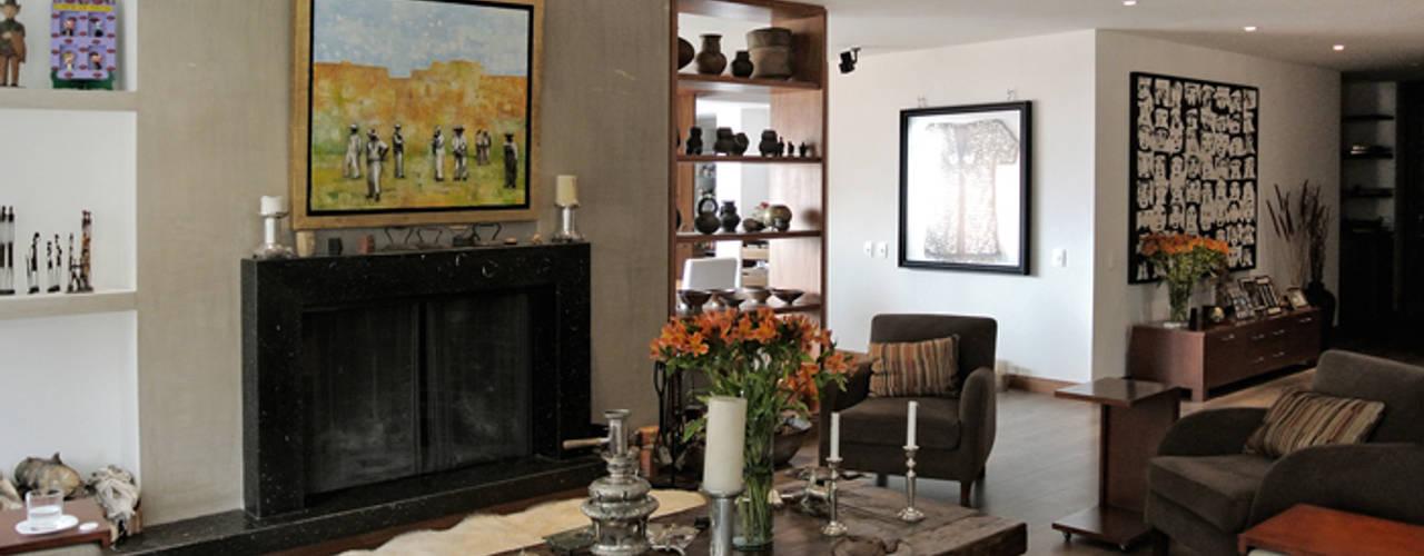 Apartamento Aposentos Salas modernas de KDF Arquitectura Moderno
