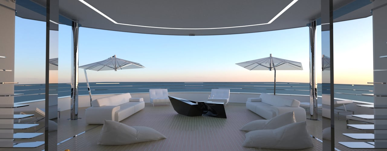 o Vinco e a Simbiose - Coffee Table / Design por Office of Feeling Architecture, Lda Moderno
