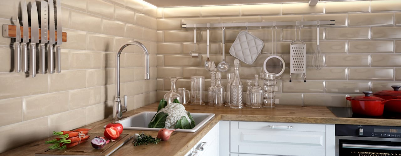Scandinavian style kitchen by CO:interior Scandinavian