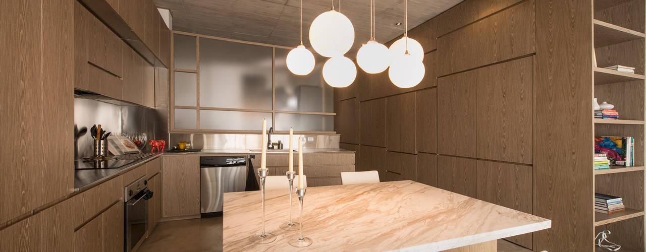 Modern Kitchen by MEMA Arquitectos Modern