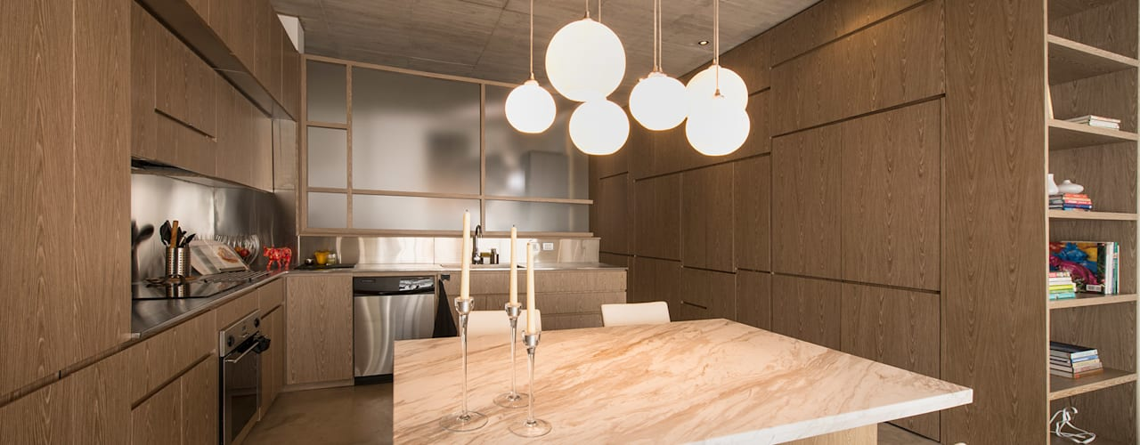 Apartamento Rubiano Cocinas modernas de MEMA Arquitectos Moderno