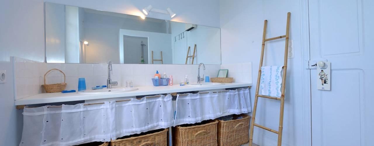 Phòng tắm phong cách đồng quê bởi JOSE MARCOS ARCHITECTEUR Đồng quê