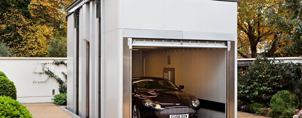 Two Houses, St John's Wood Garage / Hangar classiques par KSR Architects Classique