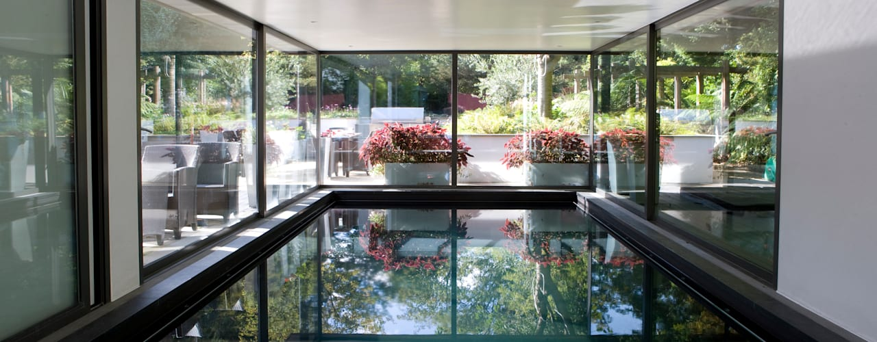 Compton Avenue, Highgate Modern pool by KSR Architects Modern