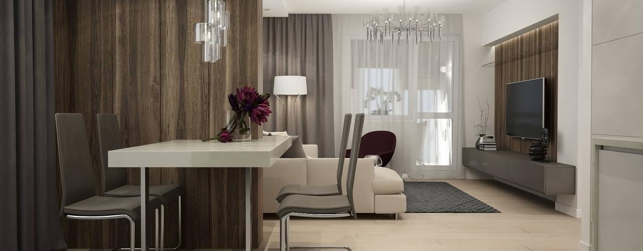 Salon minimaliste par GK DESIGN Minimaliste
