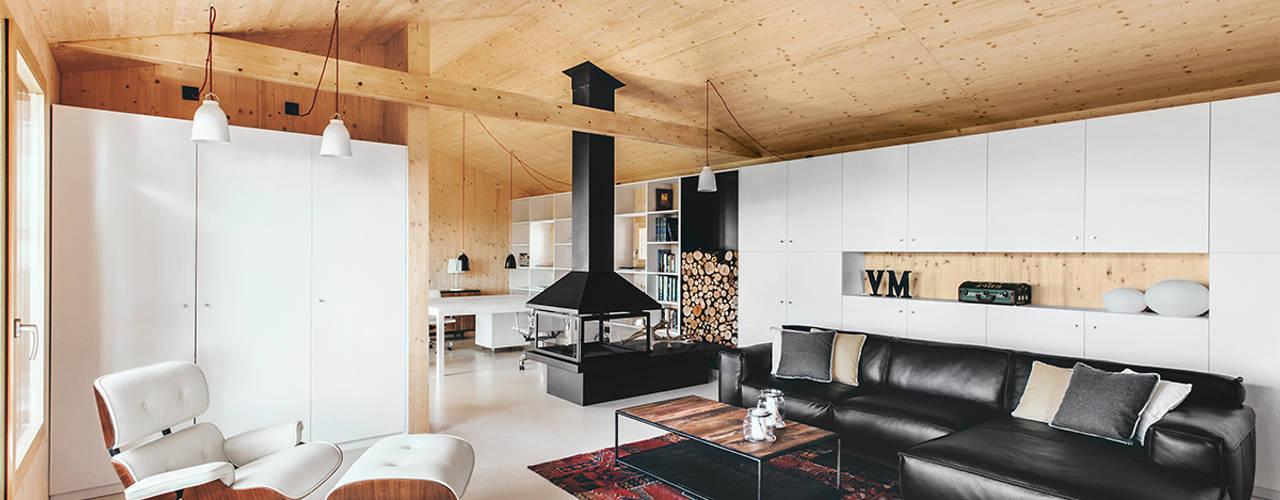 Livings de estilo moderno de dom arquitectura Moderno