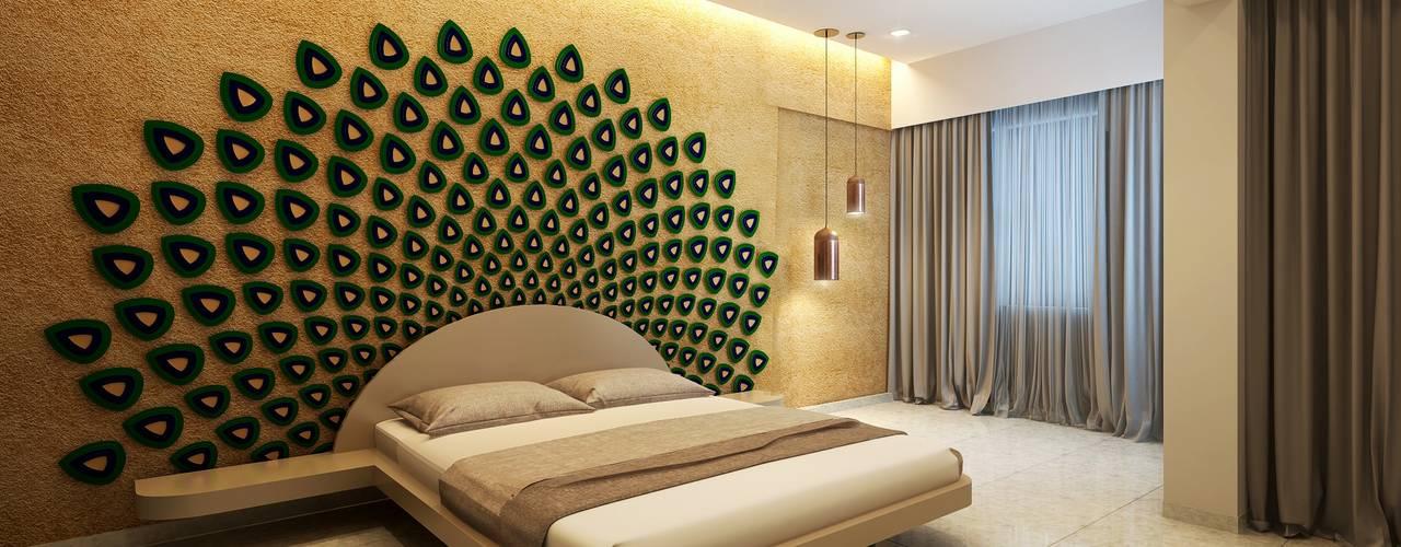 Dormitorios modernos: Ideas, imágenes y decoración de jyotsnarawool Moderno