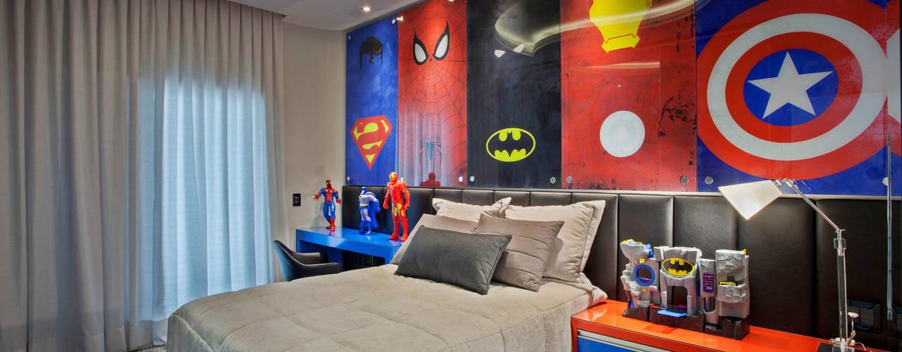 Nowoczesny pokój dziecięcy od Arquiteto Aquiles Nícolas Kílaris Nowoczesny