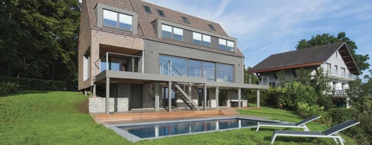 Projekty,  Domy zaprojektowane przez BURO5 - architectes & associés, Nowoczesny