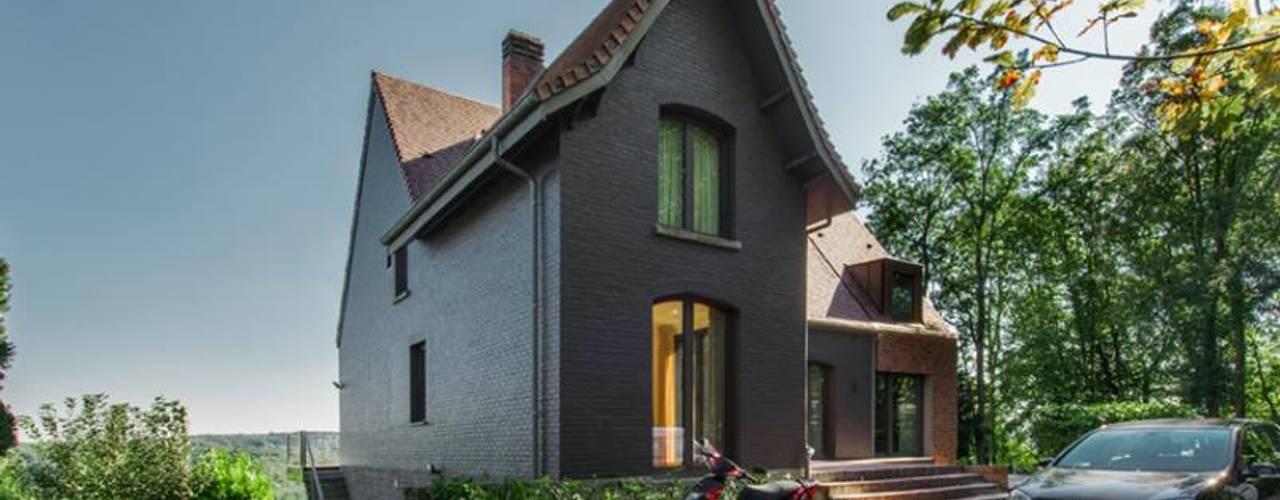 Projekty,  Domy zaprojektowane przez BURO5 - architectes & associés