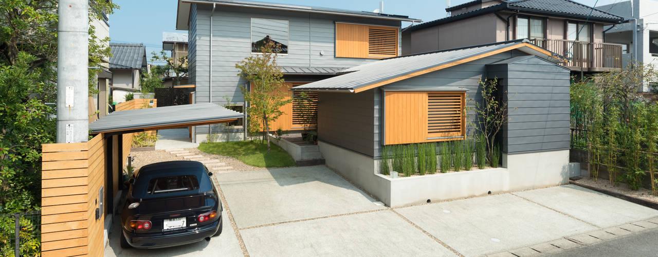 Terrazas  de estilo  por FAD建築事務所
