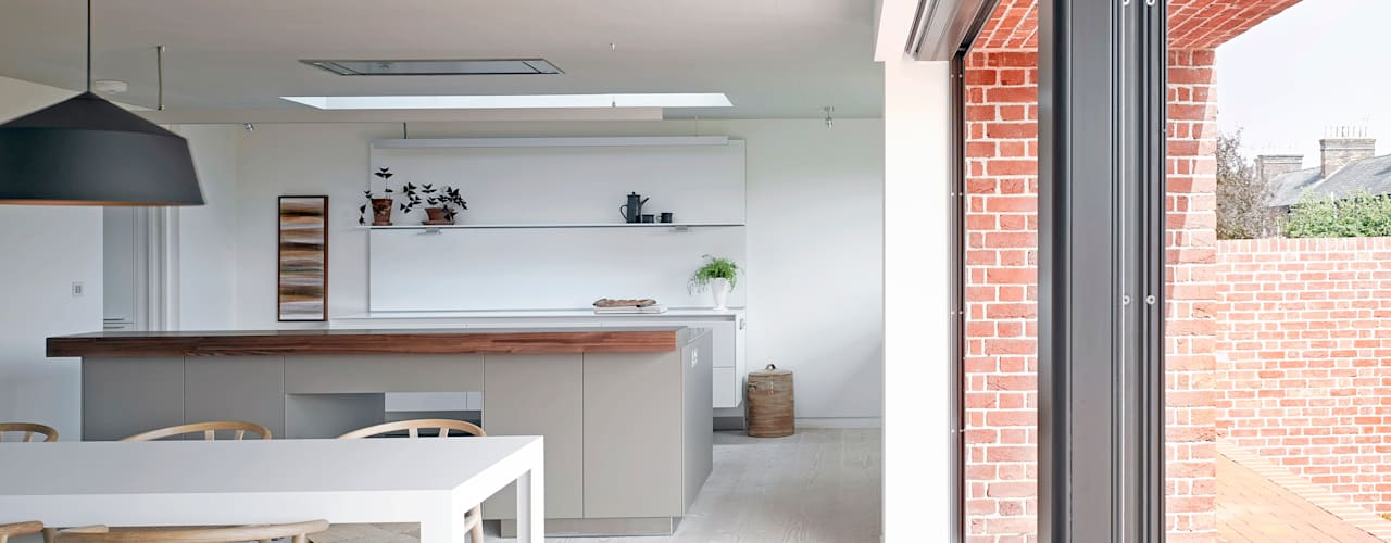 Broad Street House, Suffolk Modern kitchen by Nash Baker Architects Ltd Modern