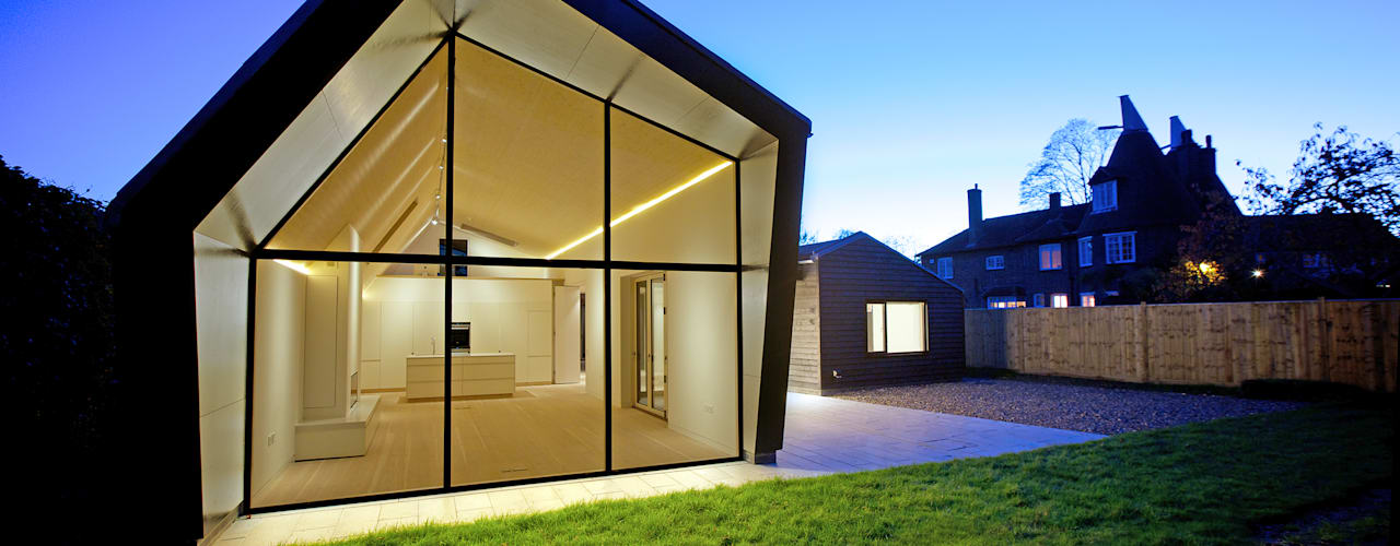 Bourne Lane Eco-House, Kent من Nash Baker Architects Ltd حداثي
