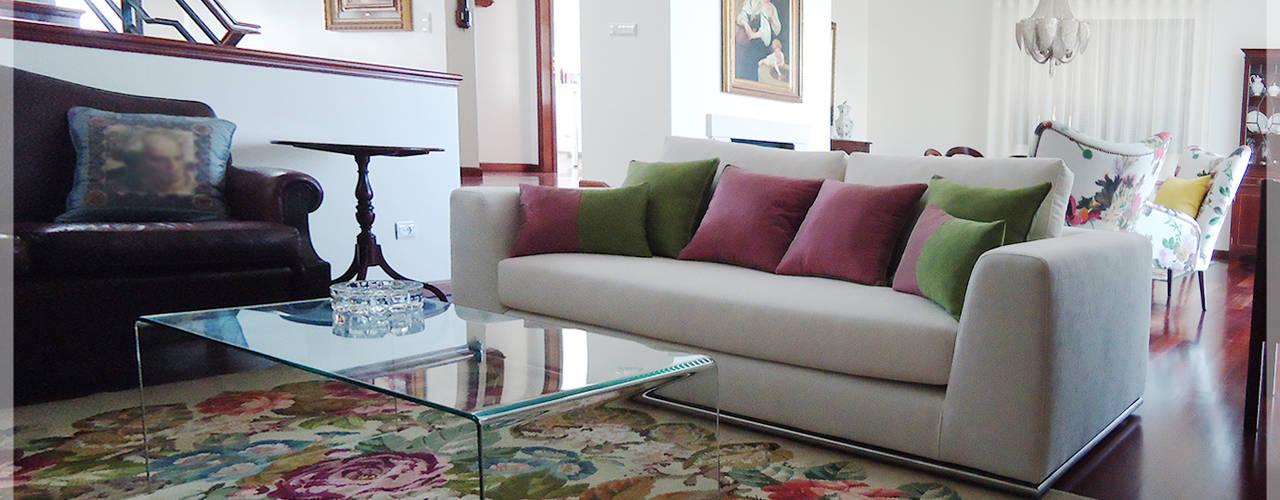 غرفة المعيشة تنفيذ Fragmentos Design, كلاسيكي