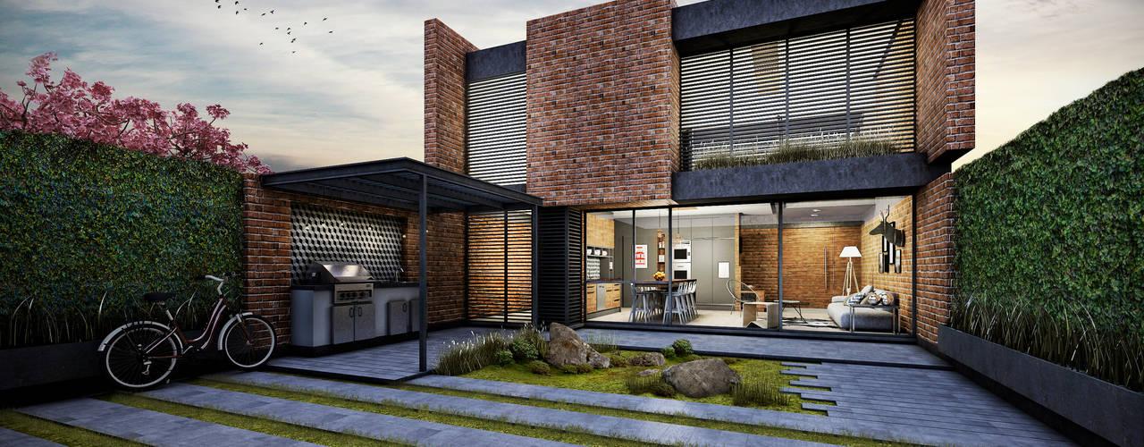บ้านและที่อยู่อาศัย by Estudio Meraki