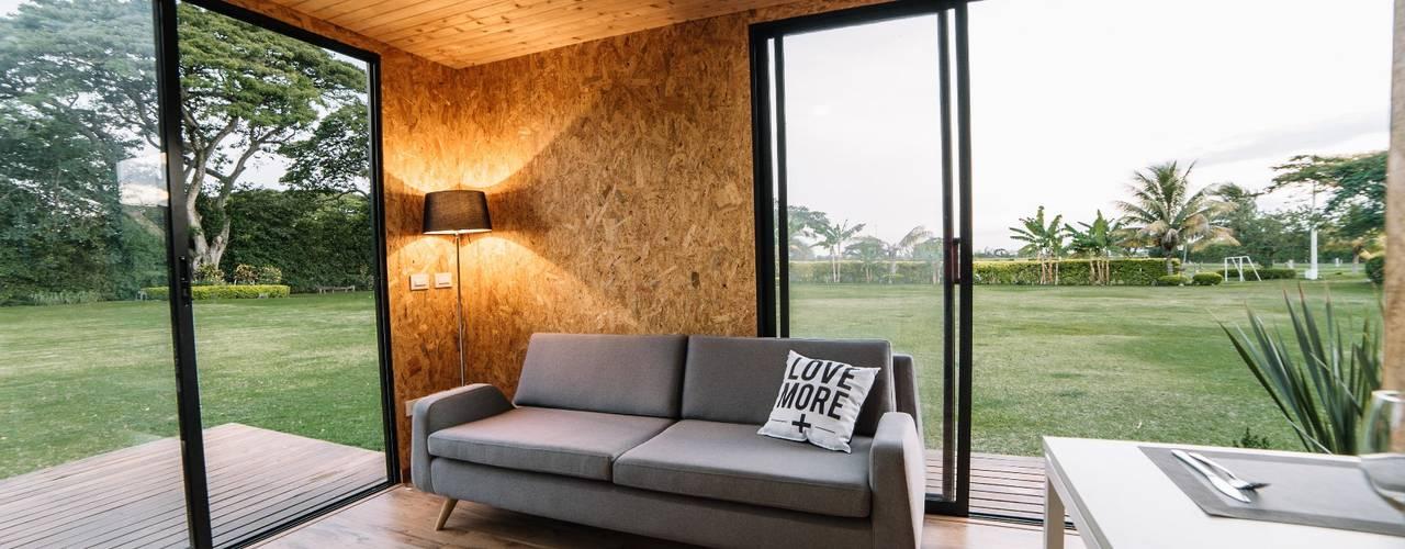 Salones de estilo  de COLECTIVO CREATIVO, Moderno