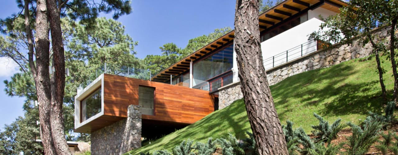 La casa en el bosque EMA Espacio Multicultural de Arquitectura Casas modernas