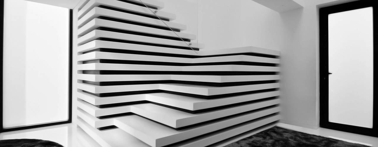 Gang en hal door MUTANT architecture & design