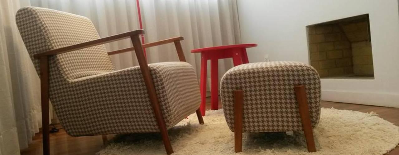Intervención Bochera en Sao Paulo La Bocheria ห้องนั่งเล่น