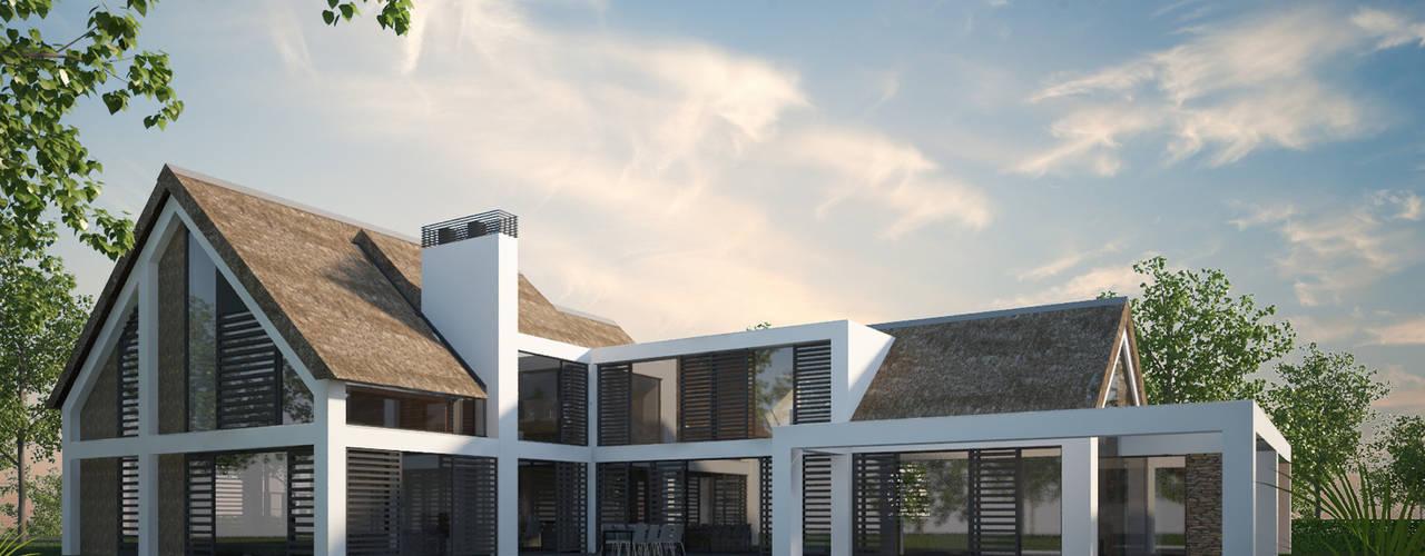 Villa JSPE:  Huizen door 2architecten, Minimalistisch Glas