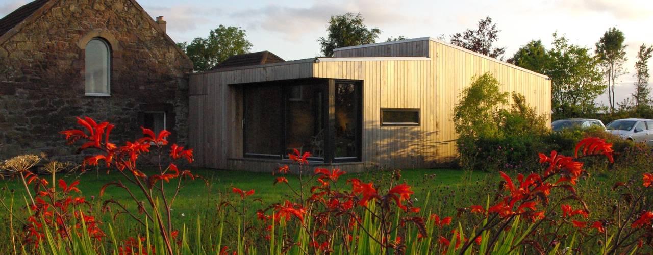Estudios de cubiertas inclinadas 6: Casas de estilo  de ecospace españa