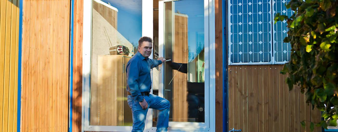 Casas de estilo  por Stefan Brandt - solare Luftheizsysteme und Warmuftkollektoren
