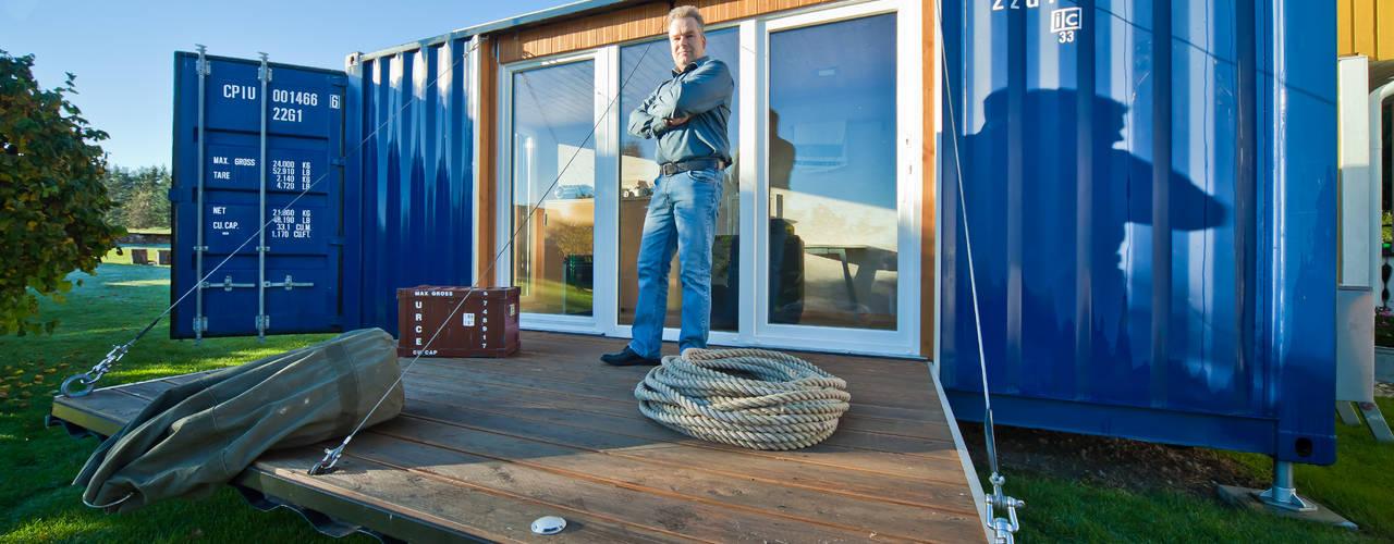 Casas minimalistas por Stefan Brandt - solare Luftheizsysteme und Warmuftkollektoren Minimalista