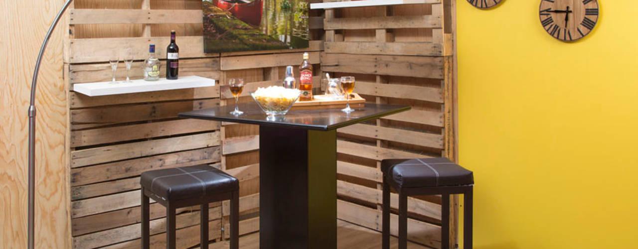 Bares r sticos de madera ideas y consejos para tener uno en casa Como disenar un bar en casa