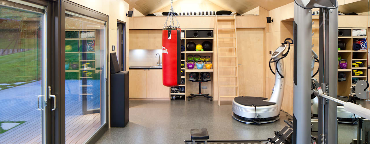 Modern gym by ecospace españa Modern