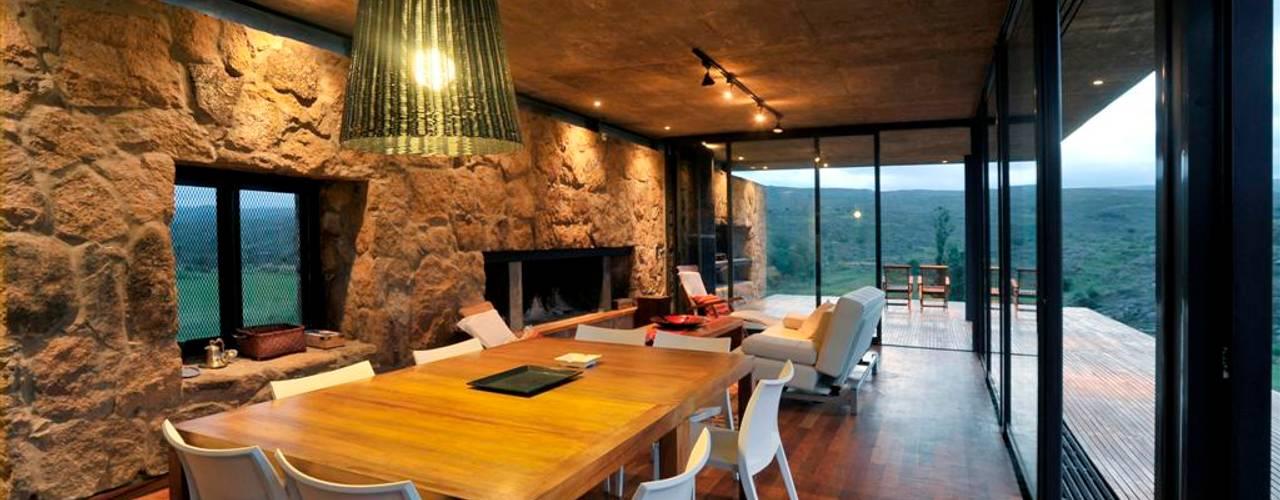 Comedores de estilo rural de LN-arquitectura Rural