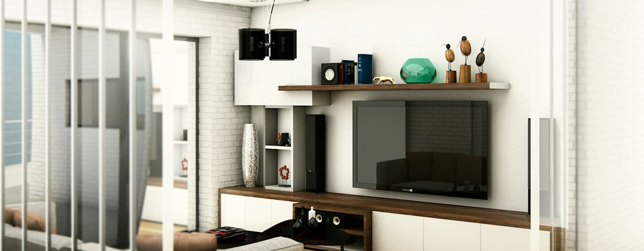 Media room by ARQUETERRA