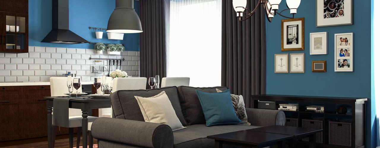 IKEA Salones de estilo moderno de Artur Akopov Moderno