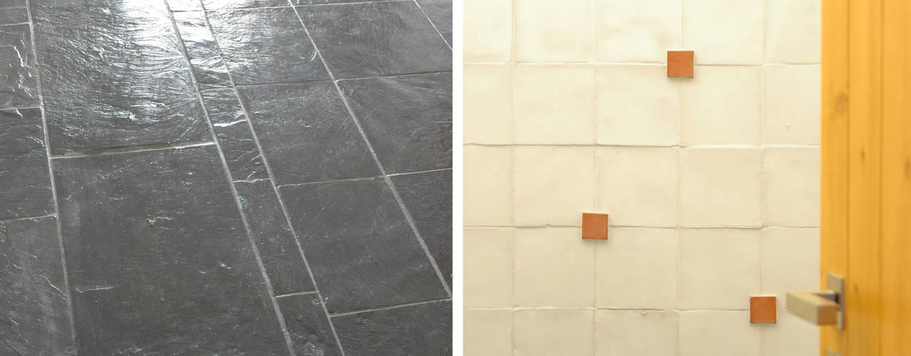 Tường & sàn phong cách mộc mạc bởi BL Design Arquitectura e Interiores Mộc mạc