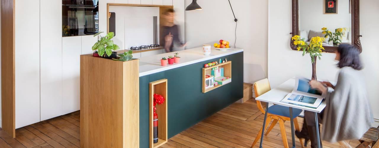 Scandinavian style kitchen by BKBS Scandinavian